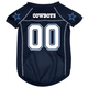 Dallas Cowboys Dog Jersey X-Large