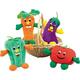 Zanies Giggling Veggie Dog Toy Tomato