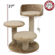 Majestic 27 Inch Casita Cat Furniture Tree