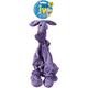 JW Pet Stretchin n Fetchin Randi Rhino Dog Toy Lar