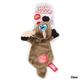 Hear Doggy Ultrasonic Flats Dog Toy Beaver
