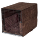 Pet Dreams Coco Plush Dog Crate Bedding 48 Inch