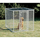 MidWest K-9 Chain Link Dog Kennel 6ftX6ftX4ft