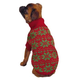 ESC Red Holiday Snowflake Dog Sweater XXsmall