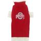 NCAA Ohio State Dog Sweater Large
