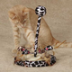 Savvy Tabby Wild Time Chirping Cat Teaser Brown