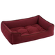 Jax and Bones Microsuede Berry Dog Bed XLarge