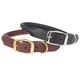 Casual Canine Rolled Leather Dog Collar 3XL Brn