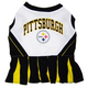 Pittsburgh Steelers Cheerleader Dog Dress Medium