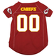 Kansas City Chiefs Dog Jersey X-Large