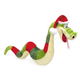 Grriggles Sugar Plum Holiday Snake Dog Toy