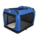 Go Pet Club Blue Soft-Sided Dog Crate 48 inch