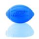 Nerf Dog Ridged Squeak Football Dog Toy Blue
