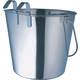 Indipets Heavy Duty Flat-Sided Hook-On Pail 9 QT