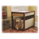 Mr Herzher Wicker and Wood Dog Crate X-Large