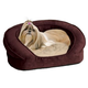 KH Mfg Deluxe Ortho Sleeper Eggplant Dog Bed XL