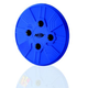 Nerf Dog Howler Whistling Flying Dog Disc Blue