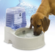 KH Mfg CleanFlow Filter Water Bowl Medium