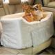 Large Lookout Pet Car Seat Denim
