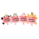 Multipet Woofie Cushion Dog Toy