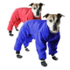 Muttluks Red Reversible Dog Snowsuit Size 26