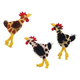 Skinneeez Chicken Cat Toy 3 pack