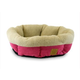 Mod Chic Round Shearling Pet Cup Fuschia