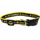 Pittsburgh Steelers Yellow Trim Dog Collar Small
