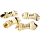 FunChew Salmon Skin and Rawhide Dog Bone 16 ct