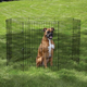 Easy Exercise Pen for Dogs 48 Inch