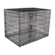 Go Pet Club Metal Dog Crate with Divider 48x29x32