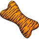 Zanies Wild Style Bone Dog Toy Tiger