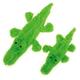 Zanies Predator Unstuffies Dog Toy LG Alligator