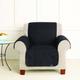Sure Fit Cotton Chair Cover for Pets Linen