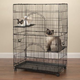 Easy Cat Black Cage