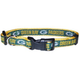 Green Bay Packers Gold Trim Dog Collar Large