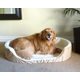 Majestic Dog Lounger Pet Bed XLarge Red