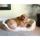 Majestic Dog Lounger Pet Bed XLarge Khaki