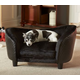Enchanted Home Pet Snuggle Bed Black Dog Bed