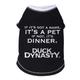 Duck Dynasty Got A Name Black Dog Tshirt X-Large
