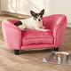 Enchanted Home Pet Snuggle Bed Pink Dog Bed