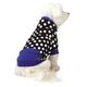 Isaac Mizrahi Floral Dot Dog Pullover XXSmall