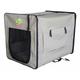 Go Pet Club Beige Soft-Sided Dog Crate 43 inch