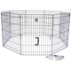 Go Pet Club Pet Exercise Play Pen 48 inch