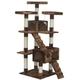 Go Pet Club 72 inch F2081 Brown Cat Tree Furniture