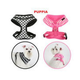 Puppia Lattice Dog Harness Large Pink