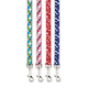 Casual Canine Pooch Pattern Dog Lead Red Bone