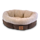 Precision Pet Round Coffee Liqueur Dog Bed