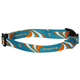 Miami Dolphins Dog Collar Large