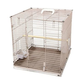 A and E Folding Travel Bird Cage Sandstone